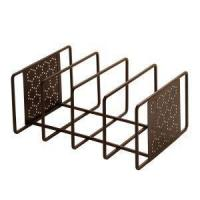 China Perforated Cutting Board & Bakeware Organizer - Bronze wholesale