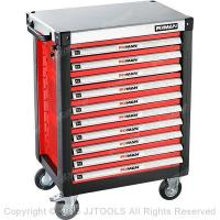 China Tool Storage China Best Tool Chest Heavy-Duty Ball Bearing Tool Cabinet With Metal Worktop on sale
