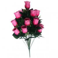 18 red&pink rose heads flower bouquets SZZ3-0023