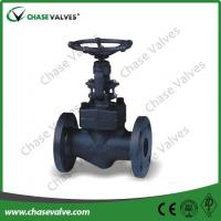 China Forged Steel Globe Valve Flanged Ends wholesale