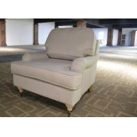 Buy cheap High quality elegance fabric sofa lounge modern single sofa one seat room furniture from wholesalers
