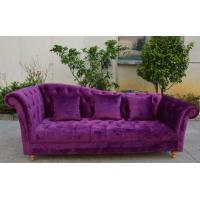 Buy cheap french style living room furniture 3 seat sofa from wholesalers