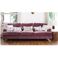Buy cheap Italian style top quality armrest sofa modern living room leisure sofa from wholesalers