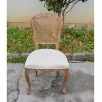 Buy cheap Dining Room Furniture Type and Wooden Material French Cane Back Dining Chair from wholesalers