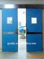 China Guangzhou blue electric sliding hospital door wholesale