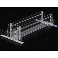 China Shelf Pusher Series 34mm width guide rail combination type pusher with acrylic on sale