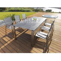 China Cheap price of garden dining room furniture,outdoor patio dining set (TS-026) wholesale