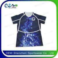 China Rugby uniform Short sleeve sublimation rugby league jerseys on sale
