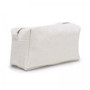 Quality HKC-032Cotton canvas cosmetic purse for sale