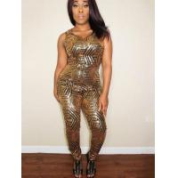 China Sequins Gold Sexy Jumpsuits 21423 wholesale