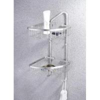 bathroom 304 stainless steel double basket