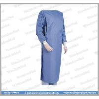 China Medical Consumables Wondcon WMD100A washable blooodproof waterproof surgical gown wholesale