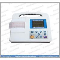 China Medical equipment Single channel color ECG Machine ECG100G1 wholesale
