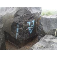 China Absolute Black Granite Block, India Black Granite wholesale