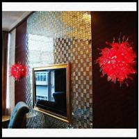 China Red Color Glass Wall Lamp wholesale