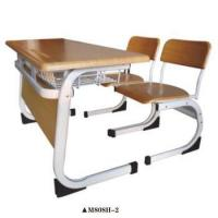 China Wooden chairs and tables Student furniture School desk and chair for sale M808H-2 wholesale