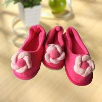 China Warm flat indoor Parent-child Shoe slipper on sale