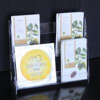 Buy cheap CD-059 Clear plexiglass acrylic cosmetic display facial mask stand from wholesalers