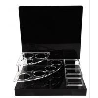 China CD-058 PMMA acrylic cosmetic display makeup stand wholesale