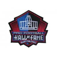 China Stitched NFL Pro Football Hall of Fame Patch on sale