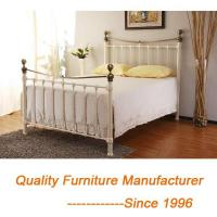 China European French Style Classic and Modern King Bed Frame in Brass on sale