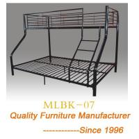 China Futon Bunk Bed Loft Black Sofa Couch Twin Dorm College Ladder Metal Over Kids wholesale