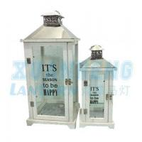 China wood lanterns for candles wholesale
