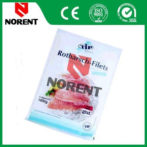 food grade seafood plastic packaging bag of norent packing