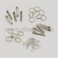 China 1Set Assorted Iron Findings including 5pcs Iron Flat Alligat...(IFIN-X0004) wholesale