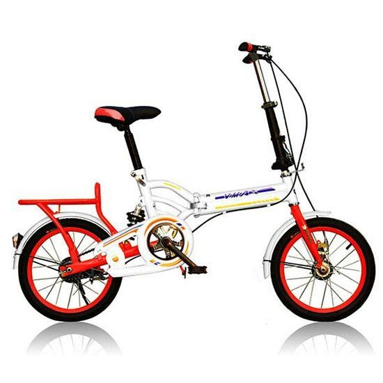 Quality DIY mixed colours 16 20 bright colours folding bike for women for sale