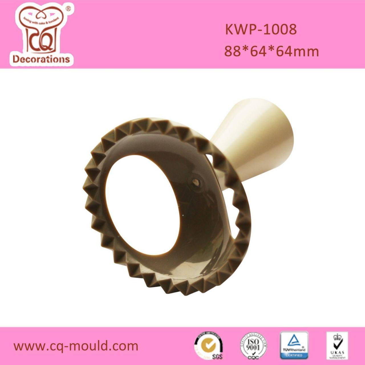 China KWP-1008 Plastic cookie stamp cutter(Round) wholesale