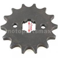 China 428 Chain 14 Tooth Front Engine Sprocket for 50cc-150cc Dirt Bikes, ATVs, Go Karts on sale