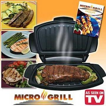 micro grill microwavable grilling machine