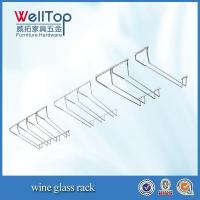 China cheap hanging wine glass rack wholsale wholesale