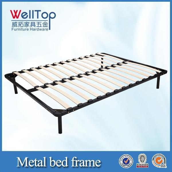 GreenForest Twin Bed Frame Metal Platform with Stable