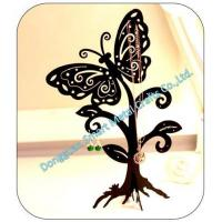 China Butterfly shaped metal jewelry display holder wholesale