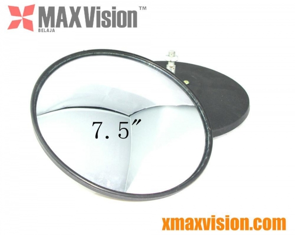 A Convex Mirror When Images