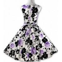 China Fashion Women's Sleeveless Floral Tunic Day Dress wholesale