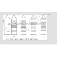 China Plain ,ribbed ,dotted condom on sale