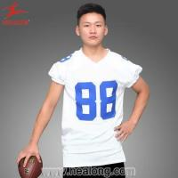 China Full sublimation American Touch Football Jersey Sports Gear wholesale