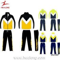 China Any Logo Sulimation Top Design Your Own Soccer Custom Tracksuit wholesale