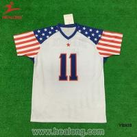 China Full Sublimation Cut And Sew Mesh Rugby National Football Jersey Wear Tee Shirts on sale
