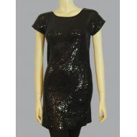China Allover sequin T-dress wholesale