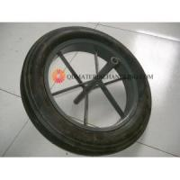 China 16 Inch Solid Rubber Wheel for Wheelbarrow on sale