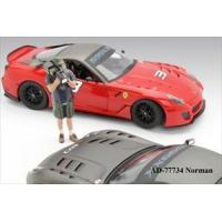 China Camera Man Norman Figure For 1:18 Diecast Car Models by American Diorama on sale