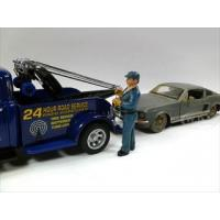 China Tow Truck Driver/Operator Bill Figurie For 1:24 Scale Diecast Car Models by American Diorama on sale