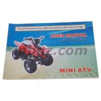 China User Maunal For Mini ATV wholesale