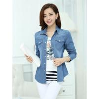 China Denim shirts for women on sale