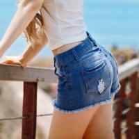 China denim shorts for women on sale