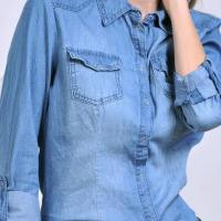 China womens denim shirt on sale